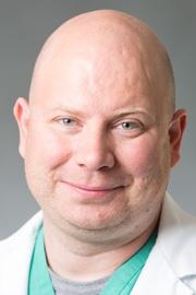 Janos Drozsdik, Medical Intensive Care Unit provider.