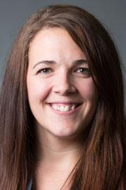 Amanda Bubar, Emergency Medicine provider.